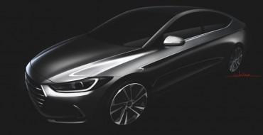 Hyundai Releases Sketch of Redesigned Hyundai Elantra