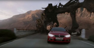Epic Shell V-Power Nitro+ Commercial Features BMW 435i & Giant Monster