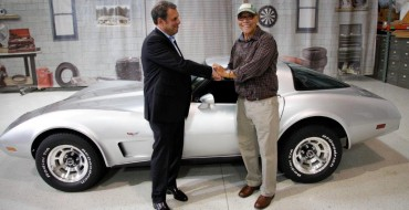 George Talley's Stolen 1979 Corvette Restored by GM
