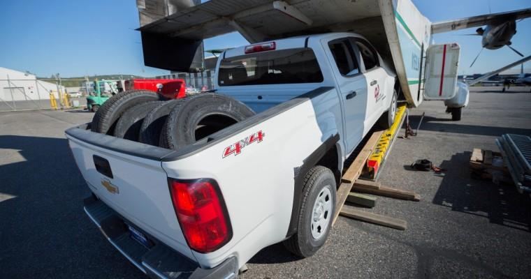 How to Transport a 2015 Chevy Colorado to the Alaskan Wilderness