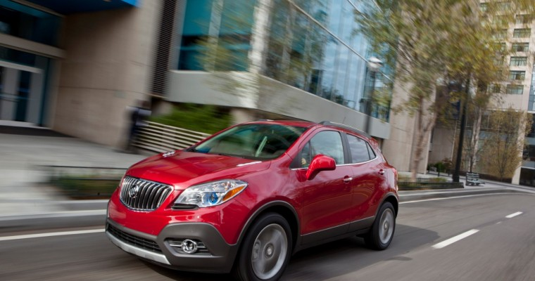 Buick Encore Hits 23 Months of Growth, Enclave Sales Rise in November