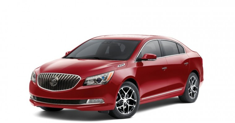 2016 Buick LaCrosse Named Best Used Large Car for Teens
