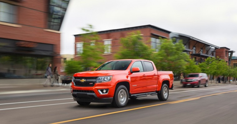 Chevy Colorado Defends Motor Trend Truck of the Year Title