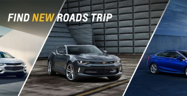2016 Camaro Leading Chevy's Find New Roads Trip