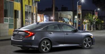 2016 Honda Civic Sedan Exterior and Interior Color Options Revealed