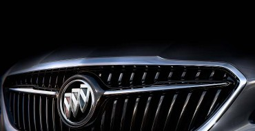 Buick Releases Teaser Photo of the Redesigned 2017 LaCrosse Sedan