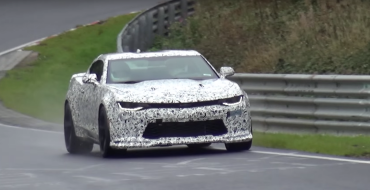 [VIDEO] 2017 Chevy Camaro 1LE Spied at Nurburgring