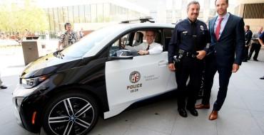 BMW Loans i3 EV to LAPD