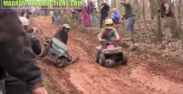 Extreme Barbie Jeep Racing: No Other Title Needed