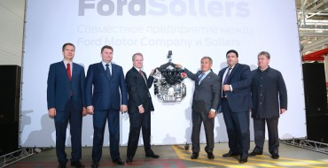 Ford Sollers Opens Up Elabuga Engine Plant