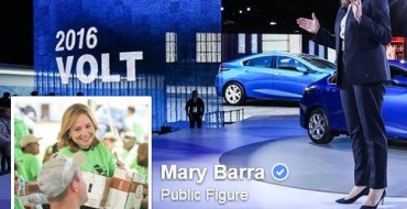 Mary Barra Joins Facebook, Just Immediately Starts Cussin'