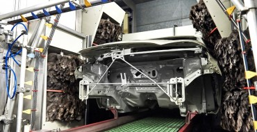 Ford's Valencia Assembly Plant Uses a Giant Ostrich-Feather-Duster