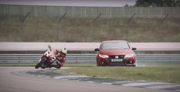 [VIDEO] Honda Civic Type R Takes On CBR1000RR Fireblade