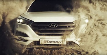 [VIDEO] Giant Sand Tunnel Challenges 2016 Hyundai Tucson's Maneuverability
