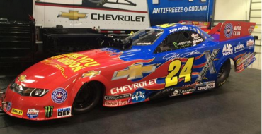 John Force to Honor Jeff Gordon with Special Flame Paint Job