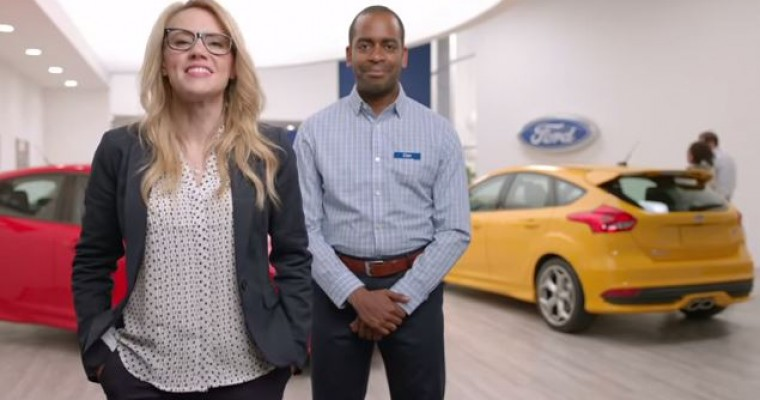 Watch Kate McKinnon Do Funny Things in Ford Focus Commercial