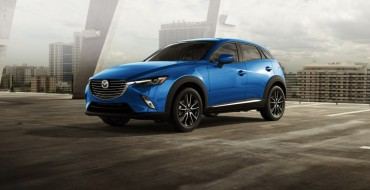 2016 CX-3 Earns IIHS Top Safety Pick+ Rating
