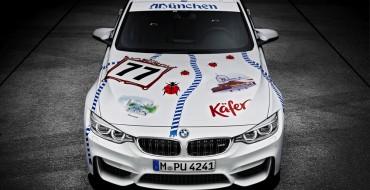 BMW Attends Oktoberfest in Munich, Decorates M3