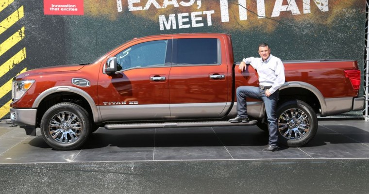 Nissan Shows Off Its New 2016 TITAN XD at the State Fair of Texas