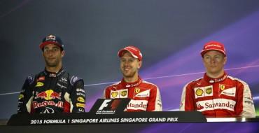 2015 Singapore Grand Prix Recap: Vettel Wins, Hamilton Retires
