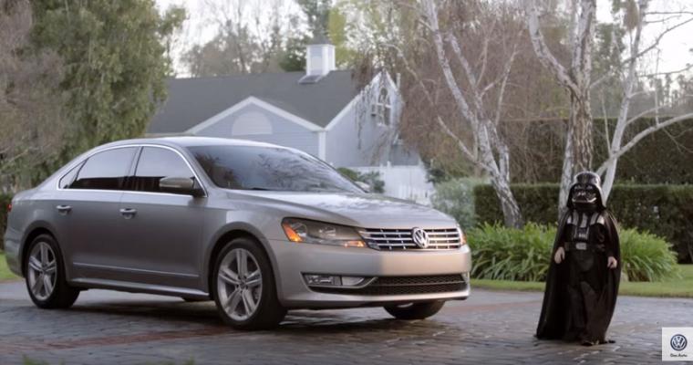 VW's Darth Vader Undergoes Surgery