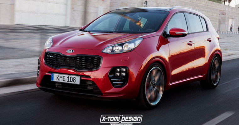 Kia Sportage GT Rendering Is the Crossover of Our Imaginations