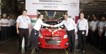 GM India Begins Exports to Mexico