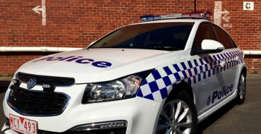 Victoria Police Add Holden Cruze to Patrols in October