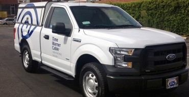 Lumbering Monster Time Warner Cable Adds 540 2015 Ford F-150s to Fleet