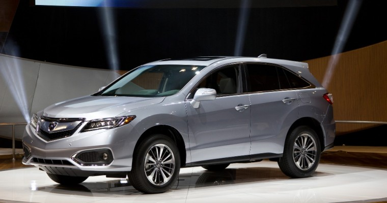 Acura TLX, RDX, and MDX Win 2016 Consumer Guide Automotive Best Buy Awards