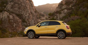 2016 Fiat 500X Named Top Safety Pick+ By IIHS