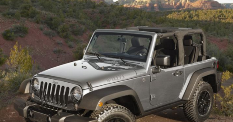 Fiat Chrysler is Investing $1.05 Billion in Ohio, Illinois Plants to Build More Jeep
