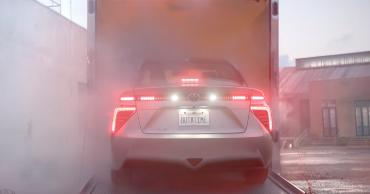 [Video] Toyota Mirai Revealed in Spectacular Fashion on <em>Back to the Future</em> Day