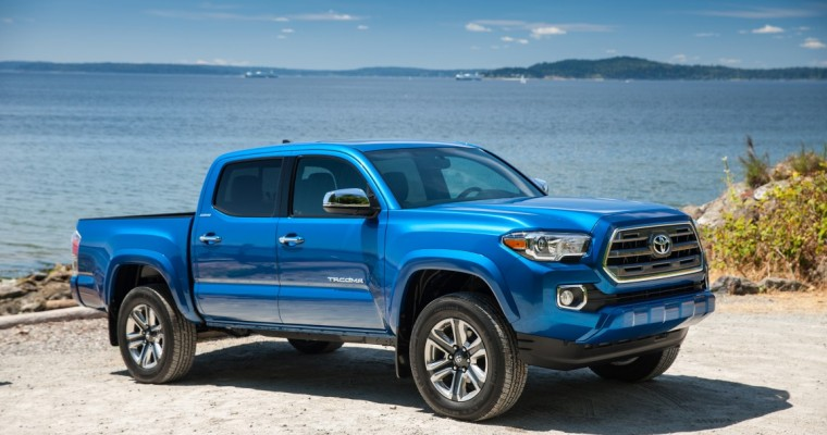 Toyota Tacomas Are Ticketed More Than Any Other Trucks