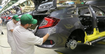 Honda Begins Production of New 2016 Civic Sedan in Ontario