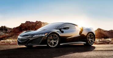 New 2017 Acura NSX Photos, Technical Details Released