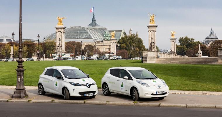 European EV Sales Update: Nissan-Renault Lead All-Electrics While Mitsubishi Dominates Plug-in Hybrids
