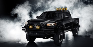 Custom Toyota Tacoma Is the Truck of Marty McFly's Dreams