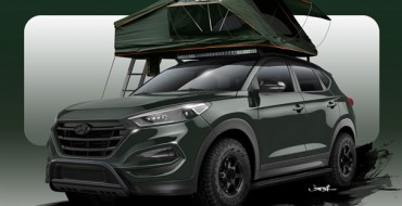 "Ever Camped on the Roof of a Hyundai Tucson? Now You Can on This Customized ""Adventuremobile"""