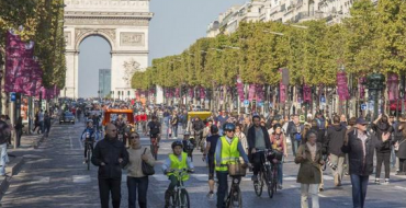 Paris Will Go Car-Free Again For One Day in September