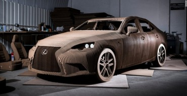 There is a Cardboard Lexus You Can Drive