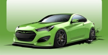 Go Green with the Hyundai Genesis Coupe TJIN Edition Underground Racer