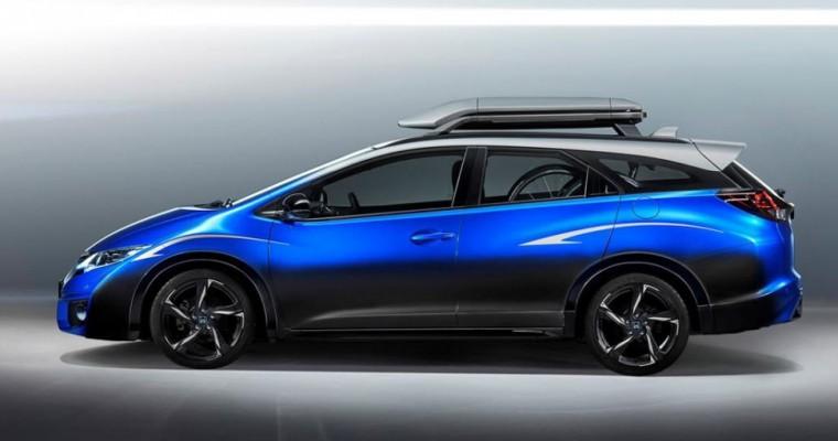Honda Civic Tourer Concept to be Revealed at 2015 Frankfurt Auto Show
