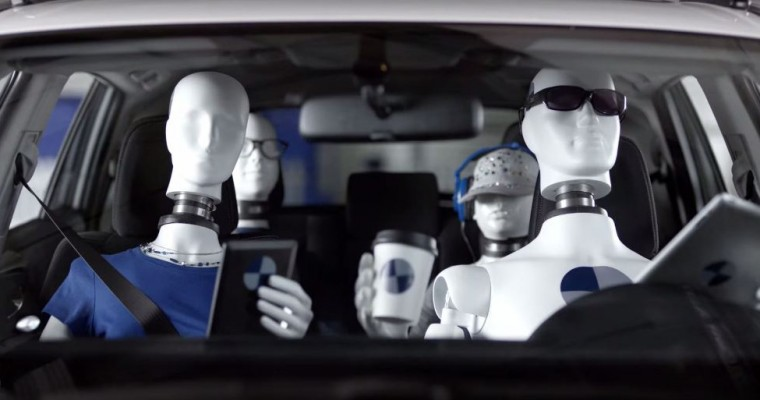 NHTSA Will Put Crash-Test Dummies in Backseats Thanks to Uber, Lyft