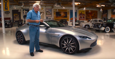 Jay Leno Drives the Aston Martin DB10 from <em>SPECTRE<em>