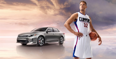 NBA All-Star Blake Griffin Gets into the Zone with 2016 Kia Optima