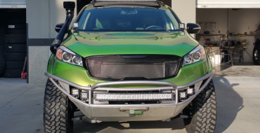 Kia Set to Debut Extreme Off-Roading Sorento for SEMA Show