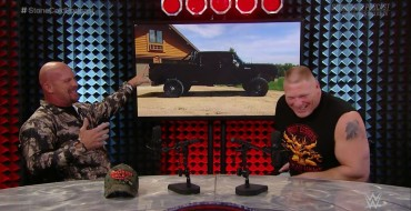 Brock Lesnar Tells Stone Cold He's a Dodge Guy, Shows Off His Truck
