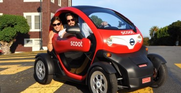 Nissan to Bring Over 'Scoot Quad' Vehicles for Car-Sharing Service