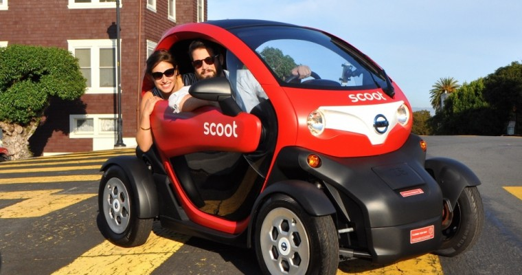 Nissan Brings Tiny Cars to New York Auto Show